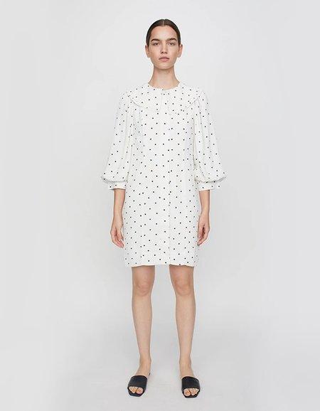 Just Female Create Dress - White Dot