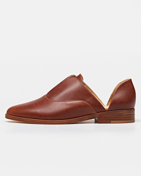 Nisolo Emma d'Orsay Oxford Cognac 5 for 5