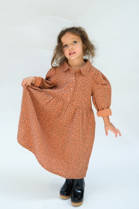 Kids My Little Cozmo Organic Gauze Dress - Sienna Floral