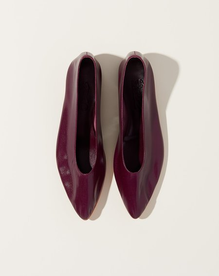 Martiniano Party Flat - Plum