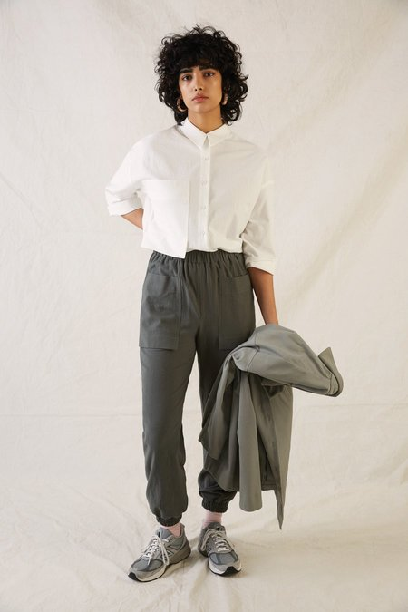 EVE GRAVEL FW21 JACOBSON PANTS - CLAY