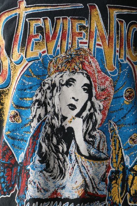 MadeWorn Stevie Nicks Tee - Coal Pigment