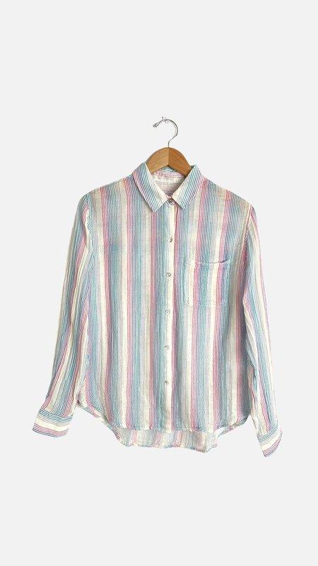 Rails Ellis Shirt - Iris Stripe