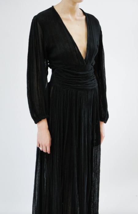 Jen's Pirate Booty Lapis Maxi Dress - Black