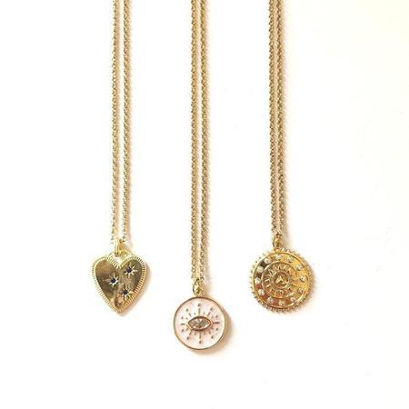 Jennifer Tuton Medallion Necklaces