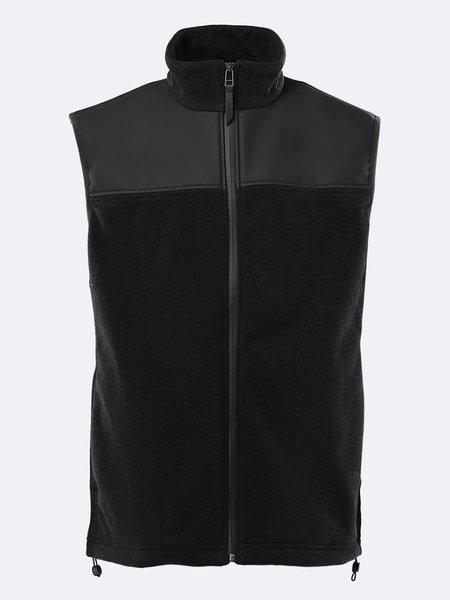 Unisex Rains Fleece Vest - Black