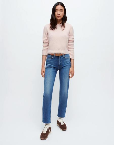 RE/DONE Comfort Stretch High Rise Stove Pipe DENIM - Mid 70s