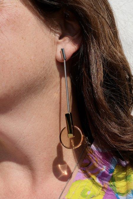 Rachel Comey Nix Earrings - Clear Honey