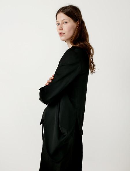 Ys by Yohji Yamamoto Asymmetrical Draped Jacket