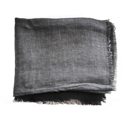 Destin Sfumato Grey Linen Scarf
