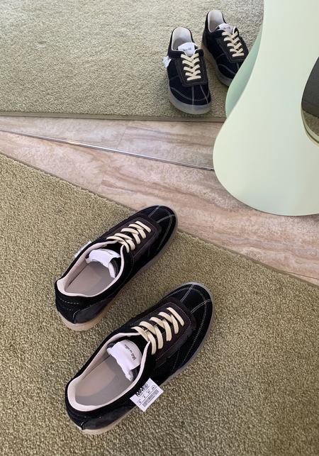 Maison Margiela MM6 Inside Out Court Sneaker - Black