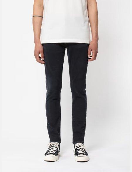 Nudie Jeans Lean Dean Slim Fit Jeans - Black Skies Blue