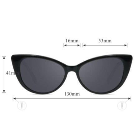 little high, little low classic rock sunglasses - black