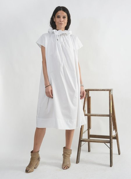 Meg Daffodil Dress - White