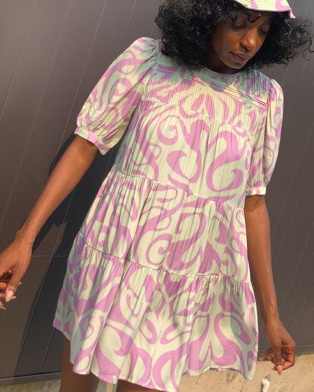 Find Me Now Dream on Dress - Lavender/Mint
