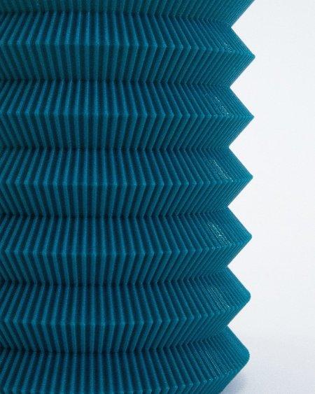 UAU Project 3D Print Vase 06 - Turquoise