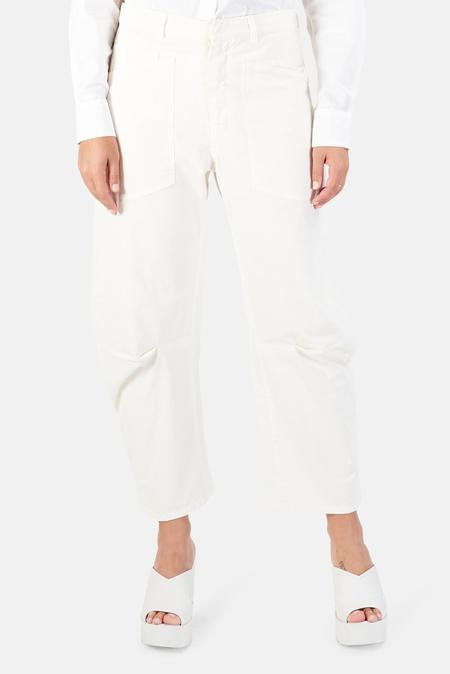 Nili Lotan Women's Shon Pants - Eggshell