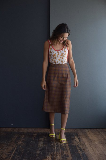 a Detacher Sawyer Skirt - Gray