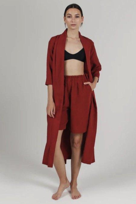 Par en Par Convertible Wrap Dress - Rust