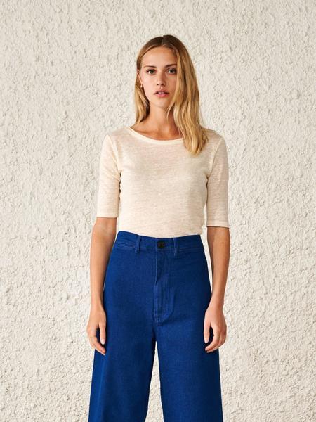 Bellerose Seas T-Shirt - Ecru
