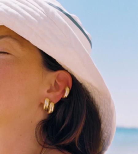 Simuero Gota Earrings - gold