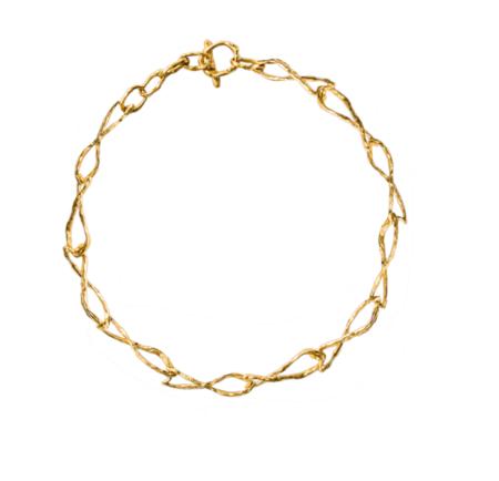 Simuero Sardina Choker - Gold