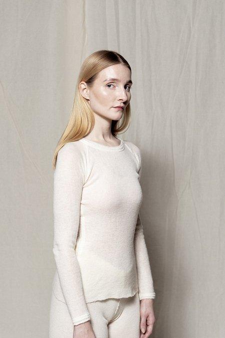 gudrun&gudrun Eco Wool Barba Pullover - Off White