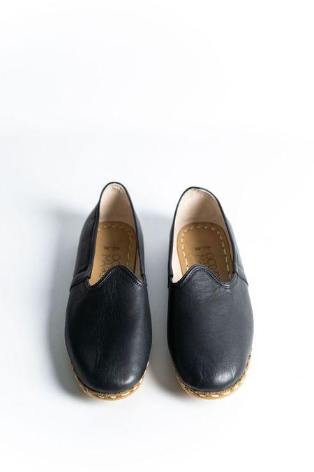 Ocelot Market Women's Turkish Yemeni Loafers - black