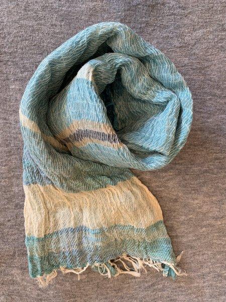 cotton scarf Tamakii Niime Small 100% Cotton Root Shawl