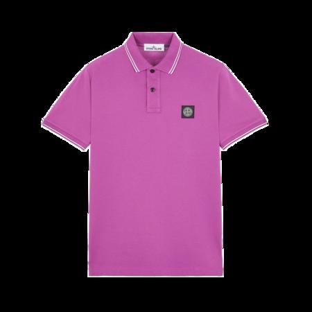 Stone Island Men MO751522S18-V0045 Polo Shirt - Magenta