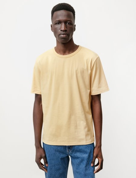 Sefr Luca Tee - Washed Sunflower