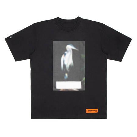 HERON PRESTON OS Censored Herons t-shirt - black
