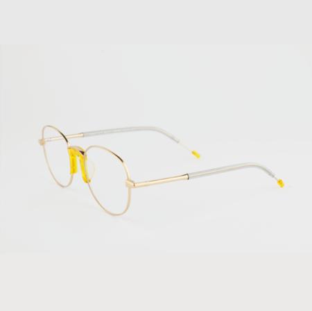 Percy Lau LIGHT Booksy EYEWEAR - Yellow
