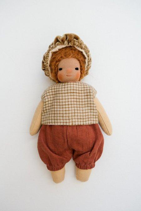 kids Lamb Ears and Roots Mushroom Doll - Clove