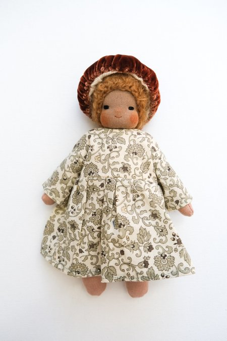 kids Lamb Ears and Roots Mushroom Doll - Hazel