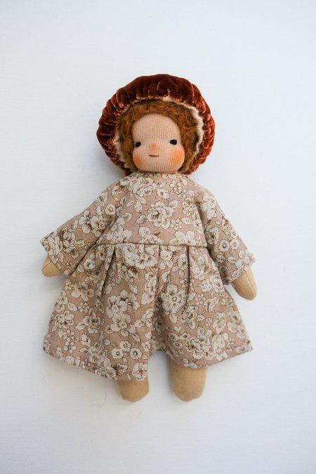 kids Lamb Ears and Roots Mushroom Doll - Sunflower