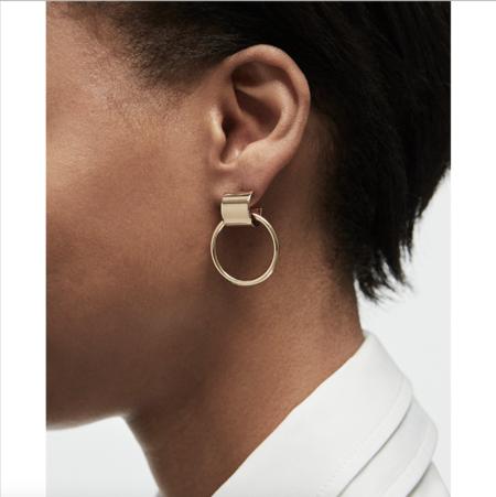 Jenny Bird Faye Knockers Earrings - Gold