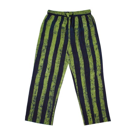 Post-Imperial IKEJA PANT - Indigo/Lime