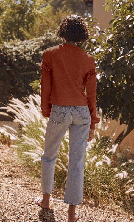 Saylor Marleny Blouse - Cinnamon