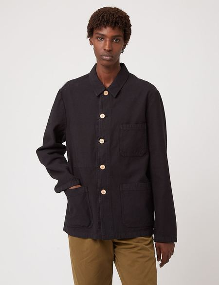 Bhode Chore Wood ButtonS Jacket - Black