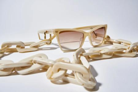 Machete Chunky Sunglass Chain - Alabaster
