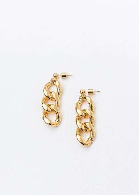 DEPARTMENT Chain Earring Single - Gold