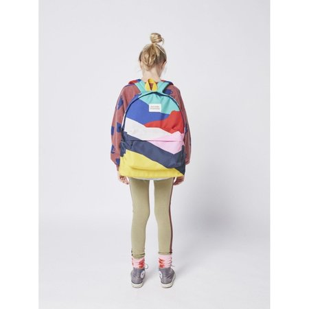 kids bobo choses block backpack - multicolor