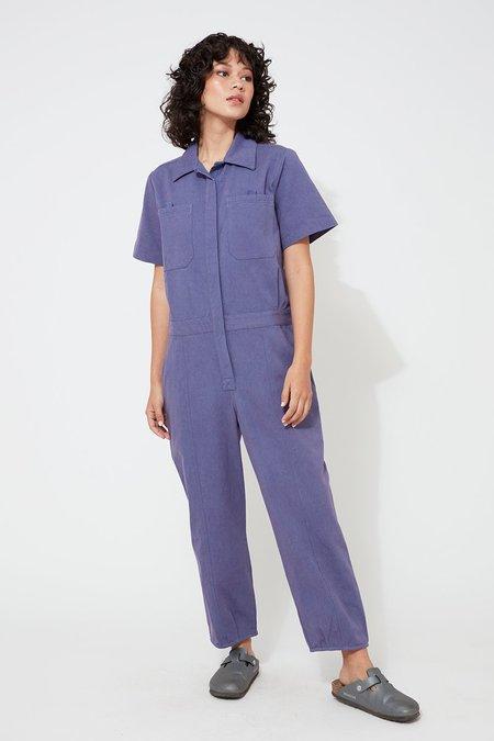 Back Beat Co. Organic Cotton Boiler Suit - Heron