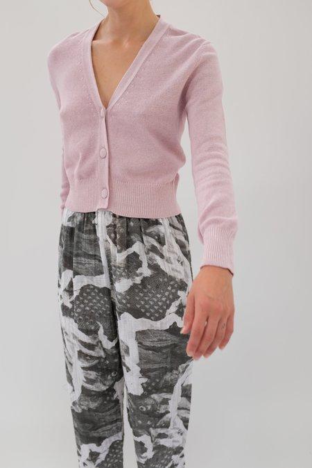 Beklina Cotton Knit Cardigan - Orchid