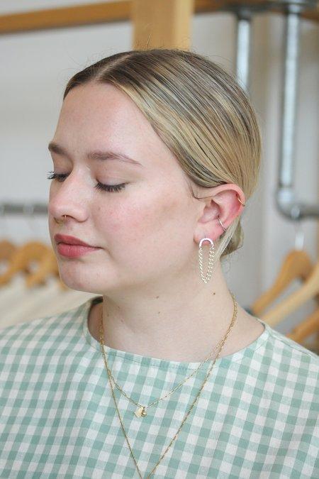 Metrix Jewelry Arc Stud Earring