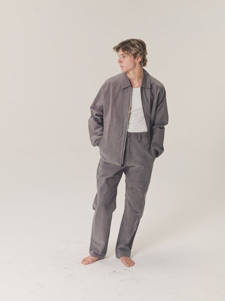 MAN-TLE R11 P3 Straight Trousers - Stone Wax
