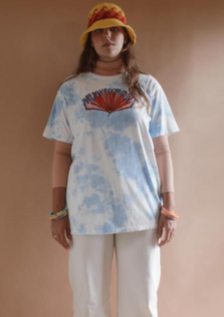 Unisex Sugarhigh Lovestoned Mushroom Cult Tye Dye T-Shirt Dress