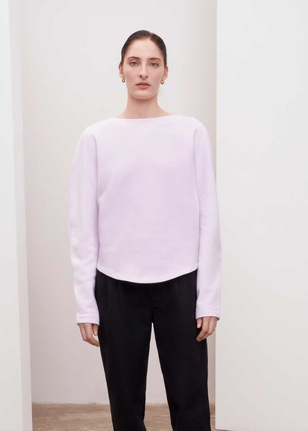 Unisex Kowtow Calder Sweater - Lilac