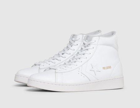 Converse Pro Leather Hi / White